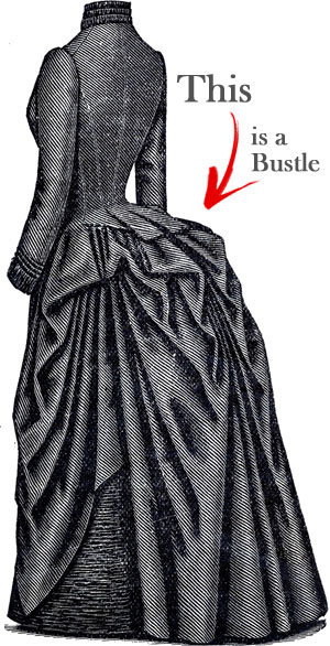 Victorian Style Bustle