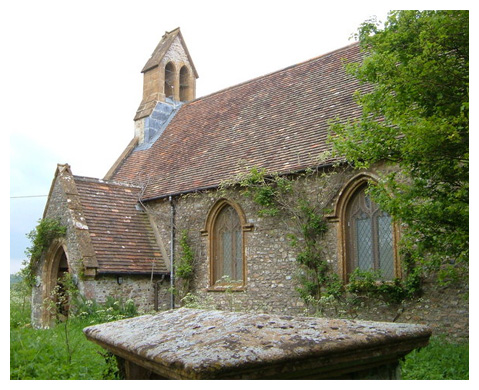 Church of All Saints - Curland, England