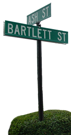 Sign Post - Bartlett and Ash