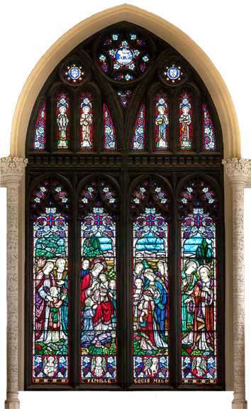 Stained Glass Window - Famille Louis Malo