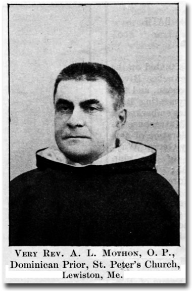 Photo - Very Rev. A.L. Mothon, O.P.
