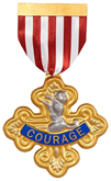 Triple Cross Medal for Courage